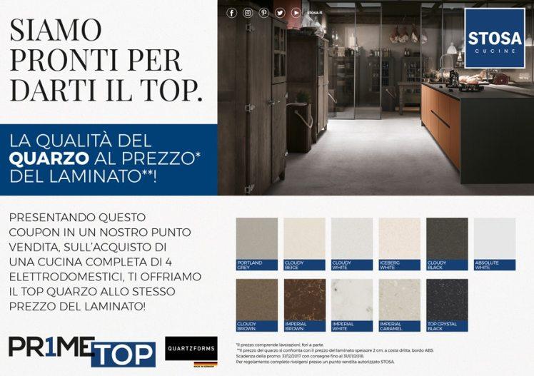 Nuova fantastica promozione Prime Top sulle cucine Stosa | Avanti di ...